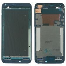 Original HTC Desire 816 Front Gehäuse Cover f. Display Kleber Rand, dunkel blau