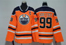 Wayne Gretzky Edmonton Oilers #99 Jersey Stitched Orange Men's Player Game
