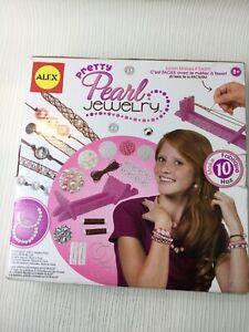 Alex Pretty Pearl Jewellery Set Loom Toy NEW Crafting Gift Pearls Bracelet W680