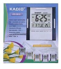 Kadio Digital Jumbo Wall Mount & pantalla de la tabla de Temperatura Reloj KD-3810