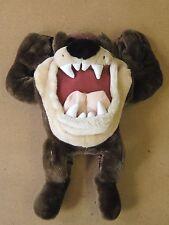Kids Plush Backpack TAZMANIAN DEVIL Taz Stuffed Animal Bag