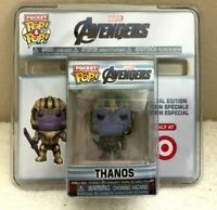 Funko pop! Pocket Marvel Avengers THANOS 2019 Target Special Edition NEW