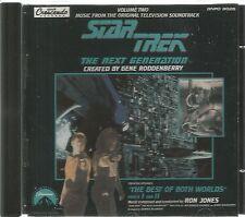 STAR TREK - THE NEXT GENERATION. THE BEST OF BOTH WORLDS PARTS I & II. RON JONES