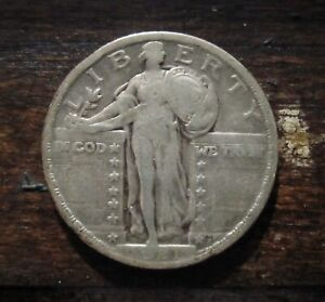 1921 Standing Liberty Quarter Scarce, Decent Date