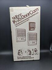 NuTone IK-25 - InterCom / DoorCom : NEW OLD STOCK! 4 pieces & Instructions