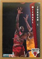 1992-93 FLEER NBA BASKETBALL CARD PICK SINGLE CARD YOUR CHOICE 1-150