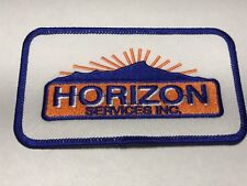 Horizon Services Plumbing Heating Air Conditioning HVAC DE PA NJ MD Logo Patch E