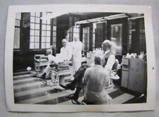 PHOTO Continental Hotel Chicago BARBER SHOP Black & White Barbers Manicurist 50s