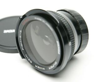 Zykkor Super Wider Semi Fish-Eye 0.42x Camera & Video Lens W/52mm Thread. Japan
