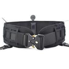 Tactical Molle Waist Belt Military Padded Combat Battle War Belt