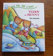 Pop up Livre animé BENNY ET TEDDY LES OURSONS Au fil de l'eau