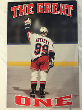Wayne Gretzky New York NY Rangers Last Game Retirement Poster SGA 4/18/99