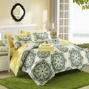 Barcelona Barella Comforter Bed In A Bag Yellow