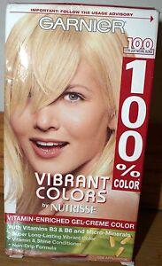 Garnier Vibrant Colors Nutrisse 100% Gel Creme 100 Extra Light Natural Blonde