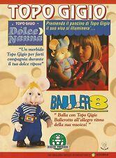 X2870 TOPO GIGIO dolce nanna - Pubblicità 1994 - Advertising