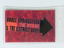 BRUCE SPRINGSTEEN E STREET BAND Laminated Backstage Tour Pass - THE RISING