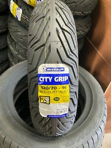 120/70-14  MICHELIN  CITY GRIP  SCOOTER  MOTORCYCLE  MOPED TYRE 120 70 14 (61P)