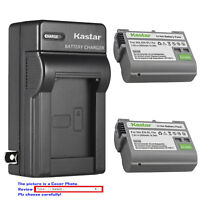 Kastar Battery Wall Charger for Nikon Original EN-EL15a Nikon Genuine MH-25a