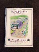 Wimbledon 2008 tennis program