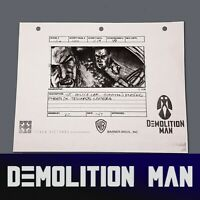 DEMOLITION MAN - Production Made Storyboard, Spartan Hits Phoenix in Police Car