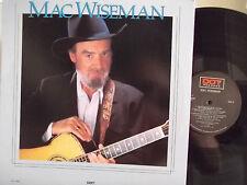 ** PROMO**MAC WISEMAN ON DOT RECORDS GOLD PROMO STAMP ON BACK JOHN HARTFORD