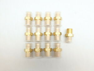 13x Parker 6-6FTX-B Fitting Adapter Brass 3/8in Tube X 3/8in Npt