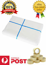 100 Sheets Butchers Packing White Wrapping GLOSS Paper 600x860mm100% Food Grade