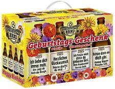 Geburtstags Bier Im Happy Birthday 4er träger
