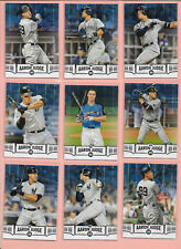 2018 Topps 2 Aaron Judge Highlights Base Blue Black U pick 2 + Free Shipping