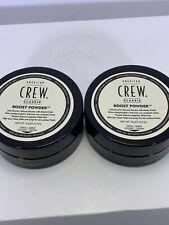 TWO American Crew Boost Powder 0.3oz NEW