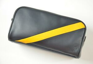 New Polo Ralph Lauren Leather Pouch Travel Bag Toiletry Case Dopp Shave Kit $178