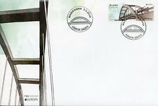 Aland 2018 FDC Bridges Europa Bomarsund Bridge 1v Set Cover Architecture Stamps