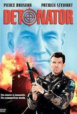 Detonator DVD, Christopher Lee, Ted Levine, Alexandra Paul, Patrick Stewart, Pie