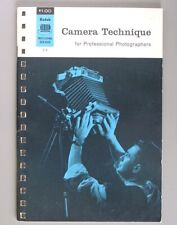 Camera Technique For Professional Photographers Kodak Data Book