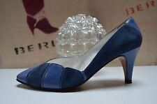 Martinoli amedeovolata DA DONNA PUMPS HANDMADE BLU 90er True Vintage Blue Scarpe