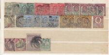 GRANDE BRETAGNE - ROYAUME UNI - LOT de TIMBRES Oblitérés de 1909 à 1996