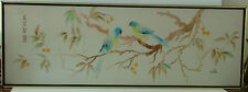 CHINESE ASIA MODERN MASTER  BIRD OIL PAINTING ON CANVAS SIGNED REALISM