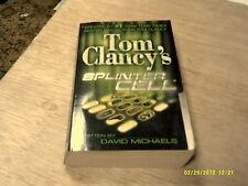 Splinter Cell by Tom Clancy & David Michaels    2004    (r)