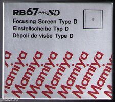 Mamiya RB 67 PRO SD / PRO S TYPE D (CROSS HAIR)  FOCUSING SCREEN