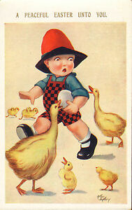 arthur butcher card from the 1930s ! a peaceful easter unto you !
