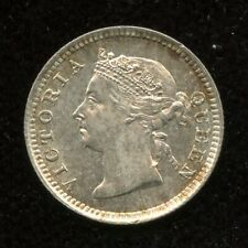 1895 Hong Kong 5 Cents Silver Coin