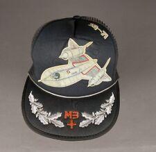 Vintage SAF SR-71 Blackbird Foam Mesh Snapback Trucker Hat Cap Taiwan ROC