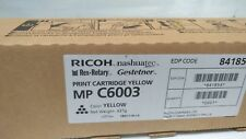 Genuine RICOH MP C6003 Toner Laser Print Cartridge Yellow 841854 NEW
