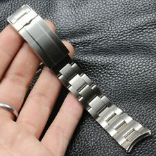 20 21 Silver 31L Steel Bracelet Watch Band For RX Daytona Submariner DEEPSEA