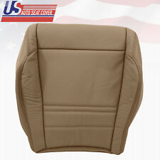 1999 FORD EXPLORER XLT LEATHER DRIVER BOTTOM 'OEM' REPLACEMENT SEAT COVER IN TAN