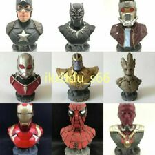1/4 SCALE SUPER HERO THE BUST Resin STATUE FIGURINES Model COLLECTIBLES FIGURE