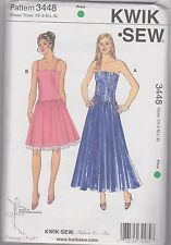 From UK Sewing Pattern Dress 32-45 bust # 3448