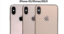 Smartphone Apple Iphone De Lujo Vinilo Pegatina protectora trasera XS a prueba de choques