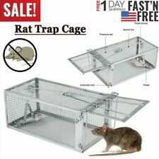 Rat Trap Cage Small Live Animal Pest Rodent Mouse Control Catch Hunting Trap Usa
