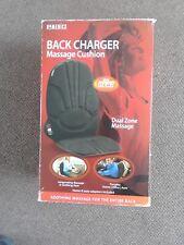 HoMedics Back Charger Massage Cushion -Black Tested
